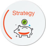 Retirement planning strategy button